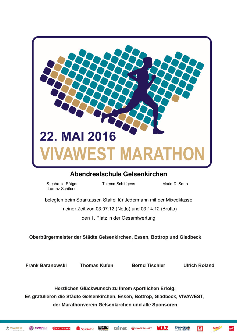 Urkunde Vivawest 2016